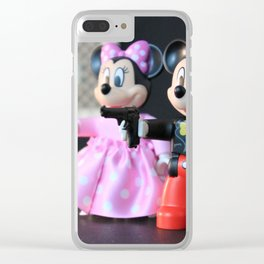 Mob Hit (new uploader) Clear iPhone Case