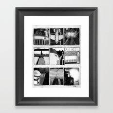 Trucking In Sixteen Directions Framed Art Print