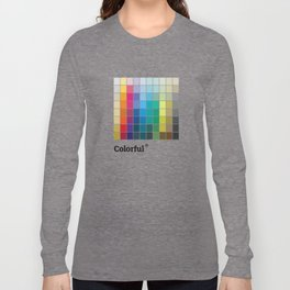 Colorful Soul - All colors together Long Sleeve T-shirt