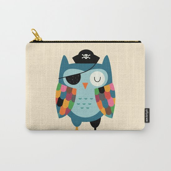 Captain Whooo Carry-All Pouch