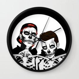 skeleton tyler n josh Wall Clock