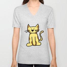 kitten two Unisex V-Neck