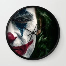 Joker Movie Poster, Joaquin Phoenix Poster, Movie Poster Printable Wall Art, Digital Downloads, Home Decor Wall Art, High Quality Photo Wall Clock