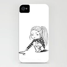 Bored Girl iPhone (4, 4s) Slim Case