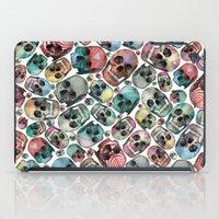 skulls iPad Cases featuring Skulls by Devin McGrath