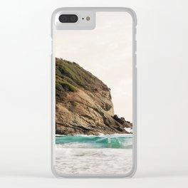 Strands Beach, Dana Point Clear iPhone Case