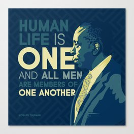 Howard Thurman Canvas Print