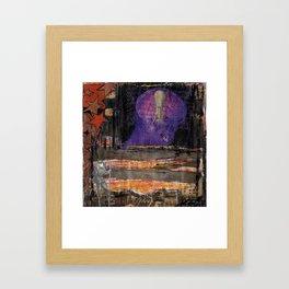 Dark Ideas Framed Art Print