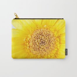 Sunny Summer Love - Yellow Gerbera #1 #decor #art #society6 Carry-All Pouch