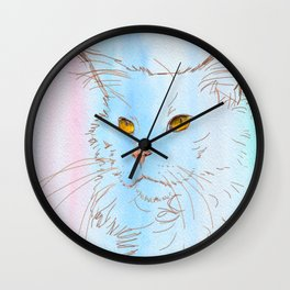 Magnificent Maine Coon Wall Clock