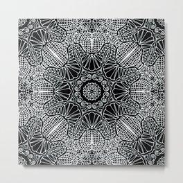 Mehndi Ethnic Style G412 Metal Print