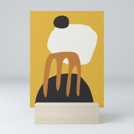 Abstract Shapes 14 Mini Art Print