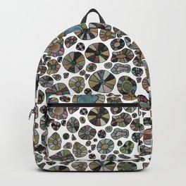 Barca Dots Pattern brown/grey Backpack