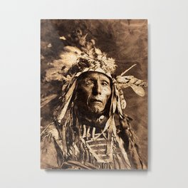 Native americans Metal Print