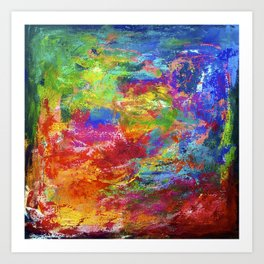 Colourfield #2 Art Print