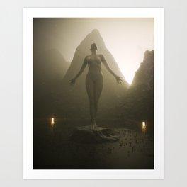 You Are A Sun Goddess Art Print