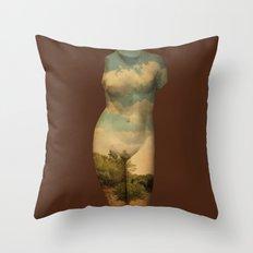 Paradame Shift x Pristine Throw Pillow