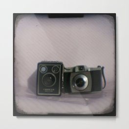Kodak camera collection Metal Print
