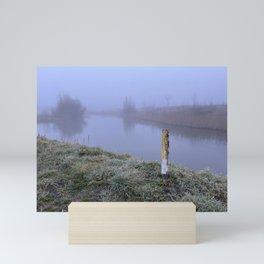 Foggy distance Mini Art Print