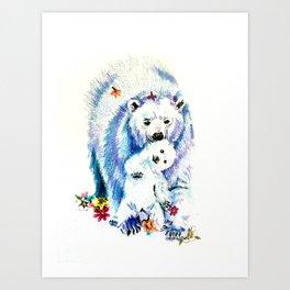 Mama Bear Lovin Art Print