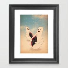 mister buco Framed Art Print