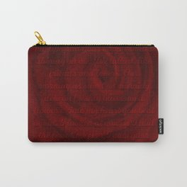 Love Letter Rose Carry-All Pouch