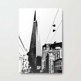 Love San Francisco Metal Print