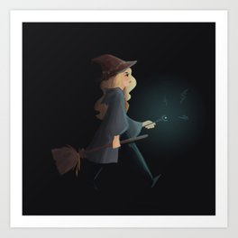 witchy emma Art Print