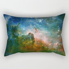 Hidden Secrets of Carina Nebula Rectangular Pillow