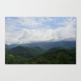 Where the Earth Touches the Sky Canvas Print