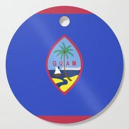 Guam flag emblem Cutting Board