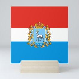 flag of Samara Oblast Mini Art Print