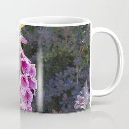 Gloves in summer!  Foxglove, Digitalis purpurea Coffee Mug