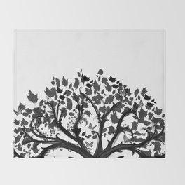 The Zen Tree Throw Blanket