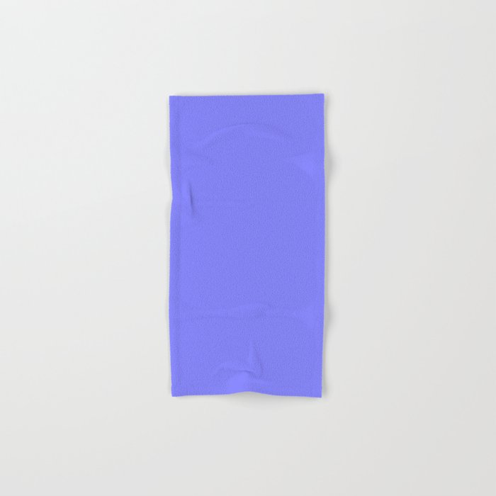 Periwinkle Solid Color Hand & Bath Towel