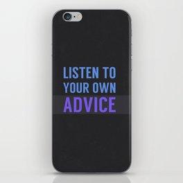 Listen Up iPhone Skin