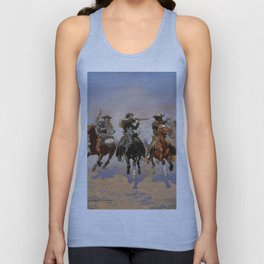 A Dash for the Timber - Frederic Remington Unisex Tank Top