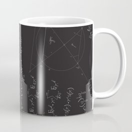 Mathematical seamless pattern Coffee Mug