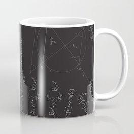 Mathematical seamless pattern Coffee Mug