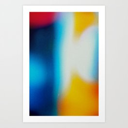 BLUR / nightlife Art Print