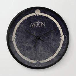 Lunar Phases Moon Cycles Wall Clock
