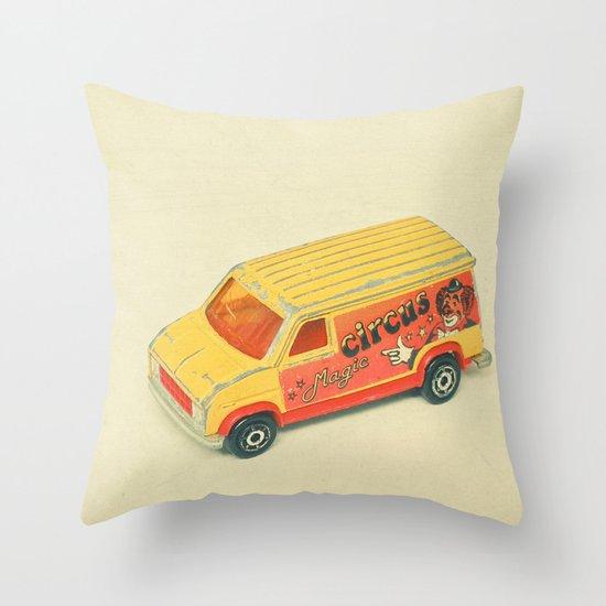 Magic Circus Throw Pillow