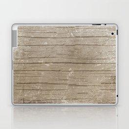 Nautical Driftwood Wood Grain Pattern Laptop & iPad Skin