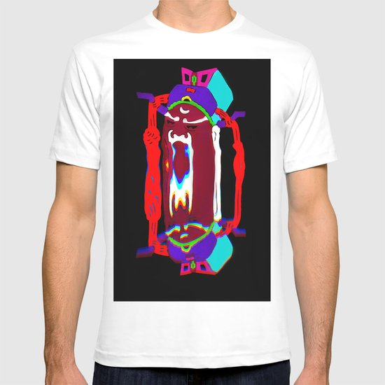 Fu Manchu Moustache T-shirt