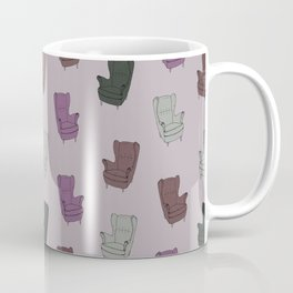 Seventies Armchair Pattern - Version 5 #society6 #seventies Coffee Mug