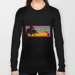 Maui Sunset Long Sleeve T-shirt