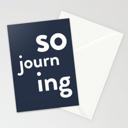 Sojourning Stationery Cards