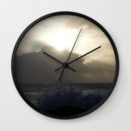 Sea Spray Wall Clock
