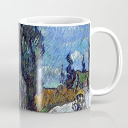 Vincent van Gogh - Road with Cypress and Star Coffee Mug