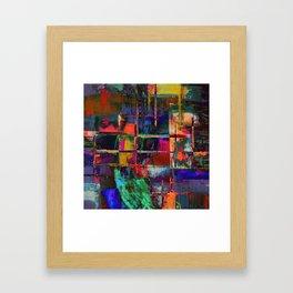 Canvas Abstract Deux Framed Art Print